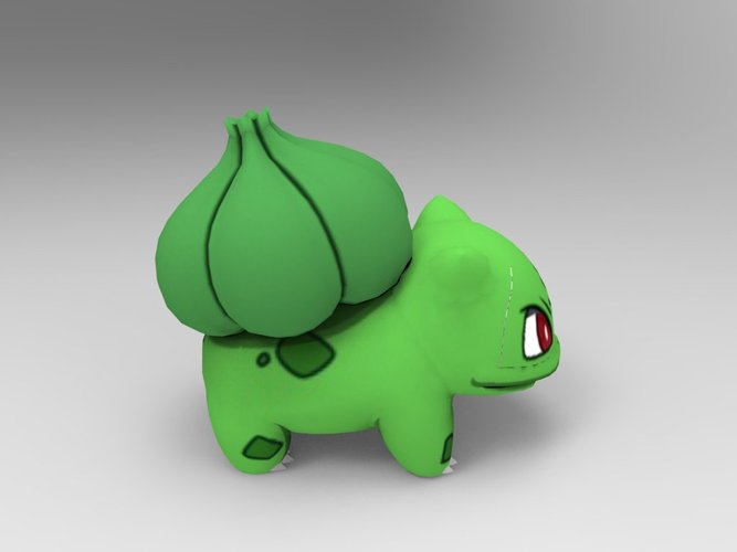 Bulbasaur-Pocket Monsters 3D Print 33230