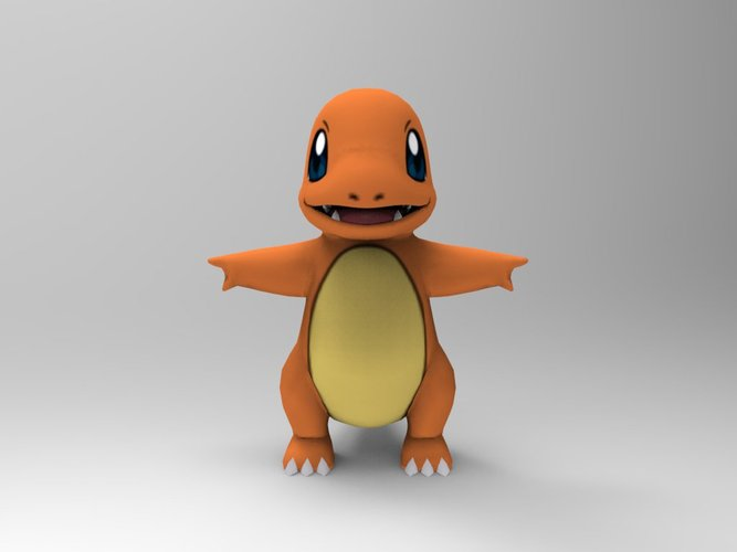 Charmander-Pocket Monsters 3D Print 33237