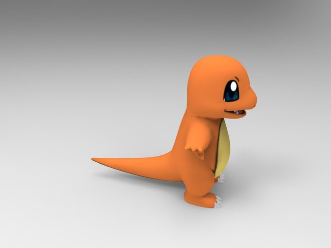 Charmander-Pocket Monsters 3D Print 33238