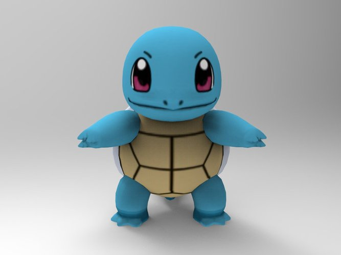 Squirtle-Pocket Monsters 3D Print 33240