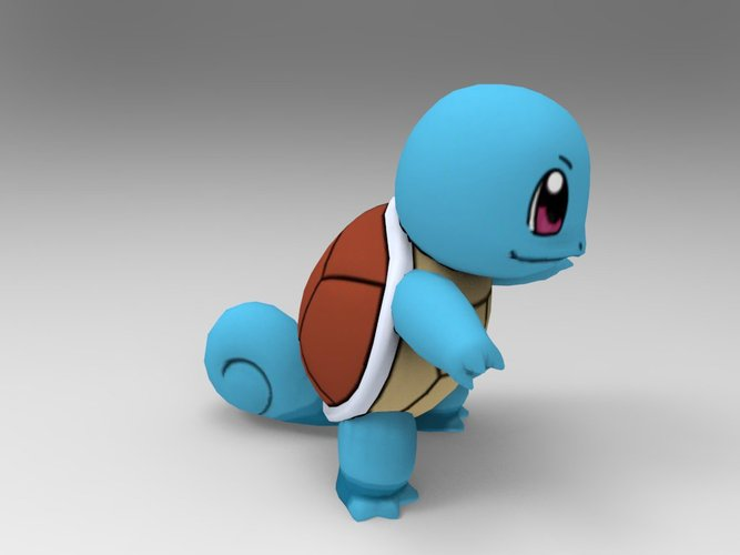 Squirtle-Pocket Monsters 3D Print 33241