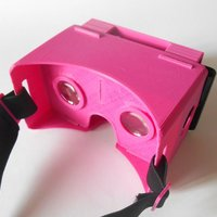 Small Printed Google Cardboard (version 1.2) 3D Printing 33334