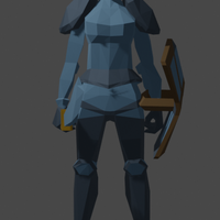 Small Rune Armour Female 3D Printing 333432