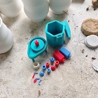 Small Pottery Wheel Playset 3D Printing 3343