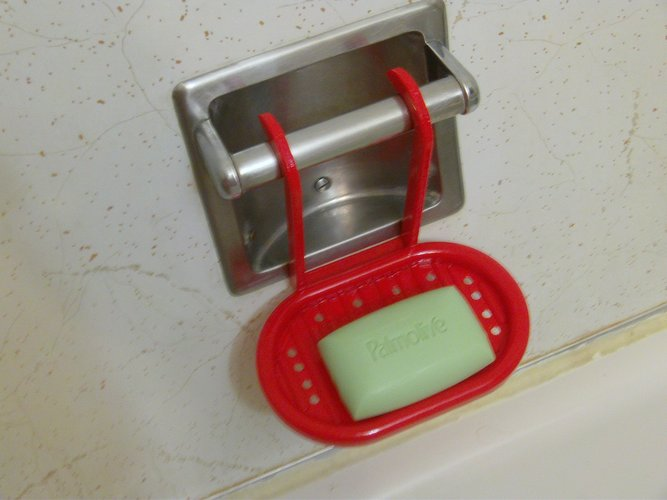 Hanging Soap Tray 3D Print 33433