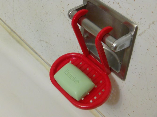 Hanging Soap Tray 3D Print 33435