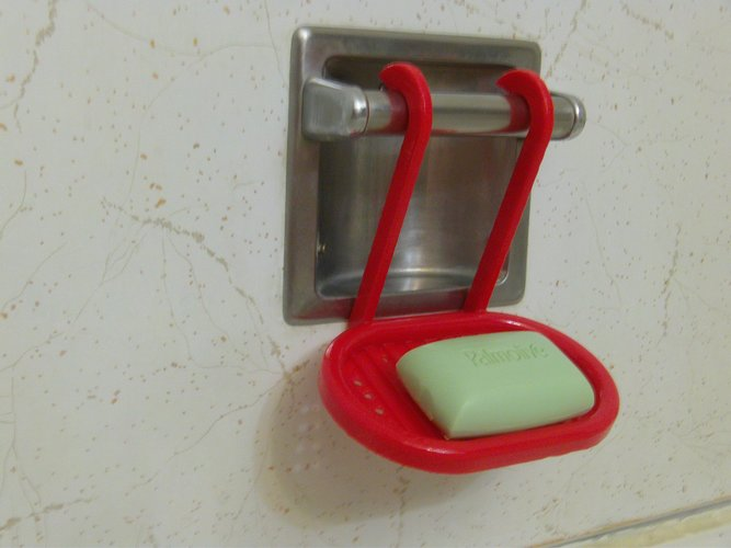 Hanging Soap Tray 3D Print 33437
