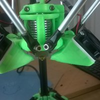 Small flex 30mm fan damper 3D Printing 33540