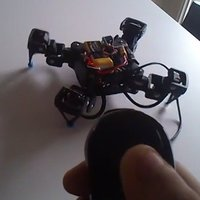 Small 18DOF Hexapod To 12DOF Quadruped modifications 3D Printing 33558