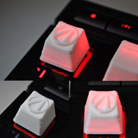 Small Keycaps Cherry MX (ESC and function keys) 3D Printing 335755