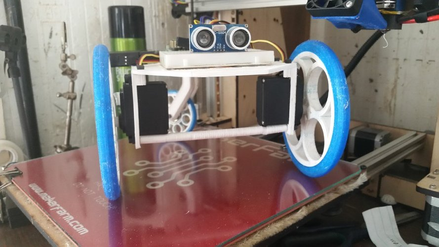 E.D.I. the Robot:  Open Source Education Robot for all grade lev 3D Print 33590