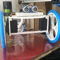 Small E.D.I. the Robot:  Open Source Education Robot for all grade lev 3D Printing 33590