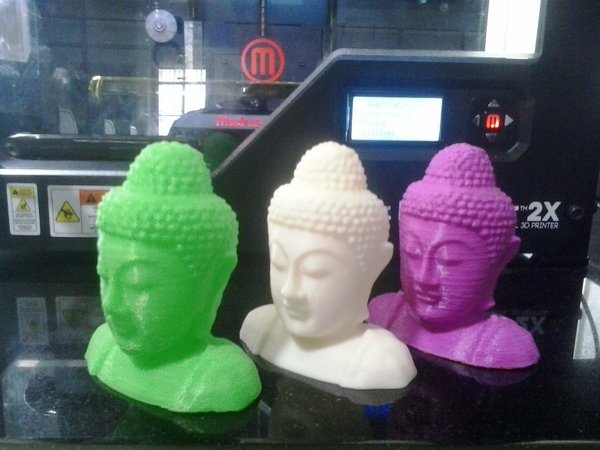 Medium budda 3D Printing 33648