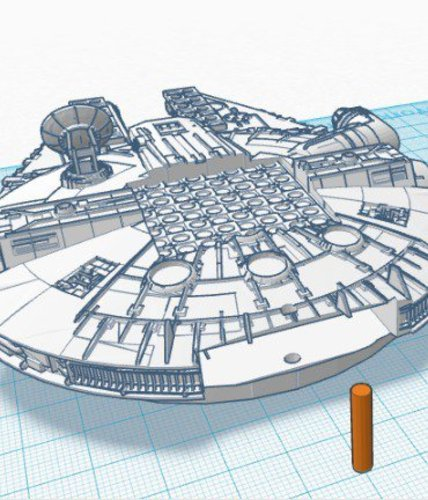 Star Wars Chess Board 3D Print 33827