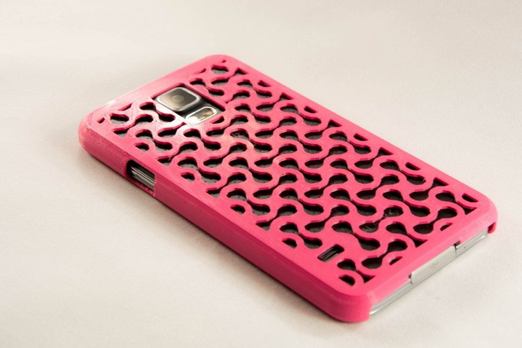 Galaxy S5 Hard Case (Revised) 3D Print 33862