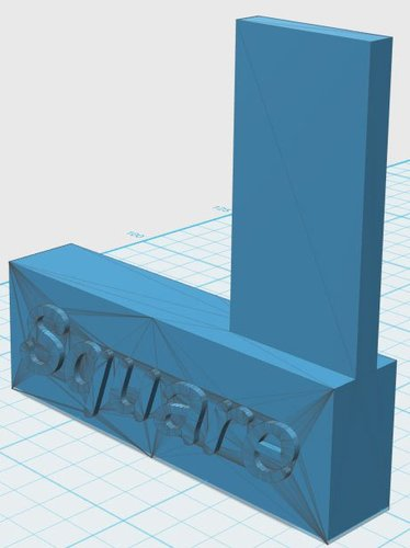 Machinist Square 3D Print 33903