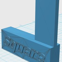Small Machinist Square 3D Printing 33903
