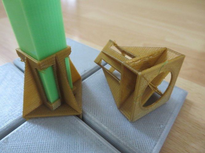 Fence post support 3D Print 33908