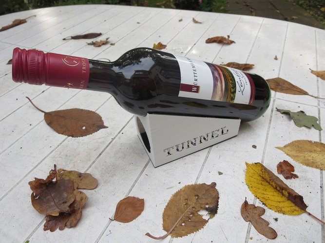 wine bottle houlder 3D Print 33948