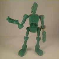 Small Modular CyBot toy 3D Printing 3395