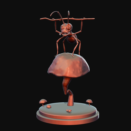 Warrior Ant  3D Print 3396