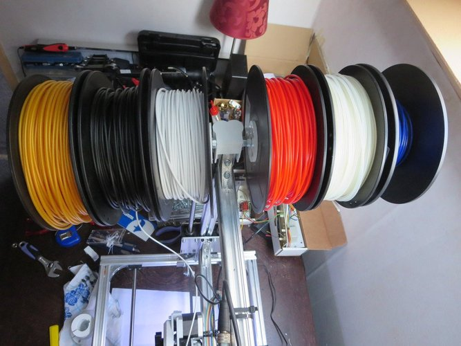 6 kg filament on K8200 3D Print 33970