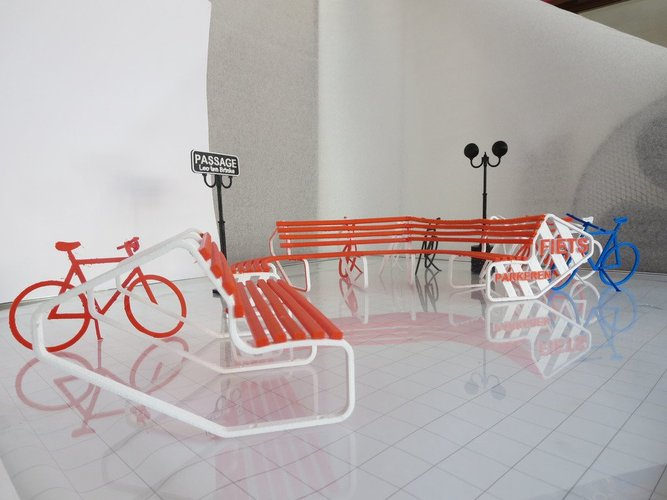 Bike parking and rest. 3D Print 33995
