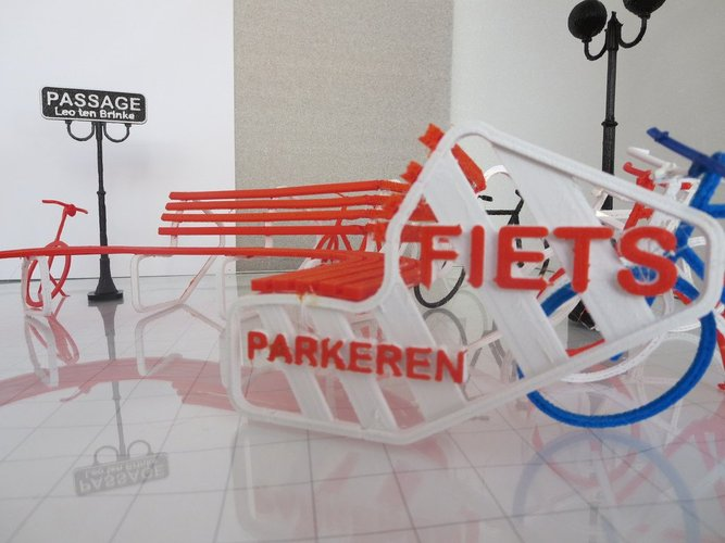 Bike parking and rest. 3D Print 33997