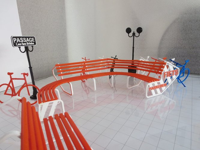 Bike parking and rest. 3D Print 33999