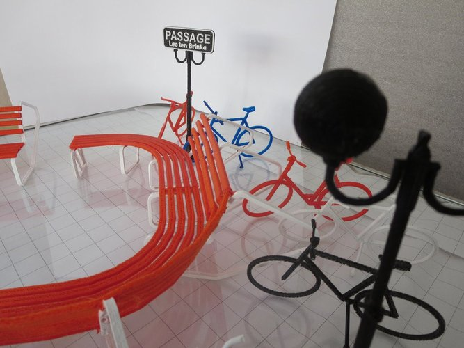 Bike parking and rest. 3D Print 34002