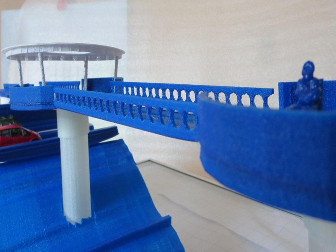 Modelstudy Ravijn Fly-Over in Nijverdal 3D Print 34017