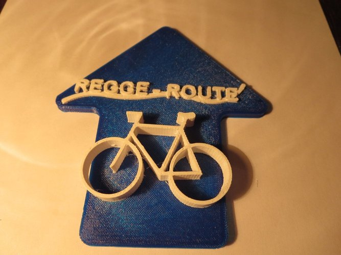 Regge Fietspad in the Netherlands 3D Print 34027