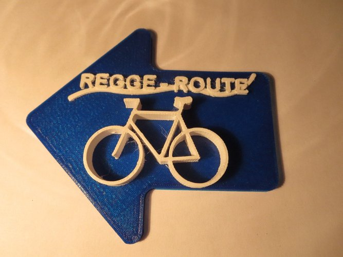 Regge Fietspad in the Netherlands 3D Print 34028