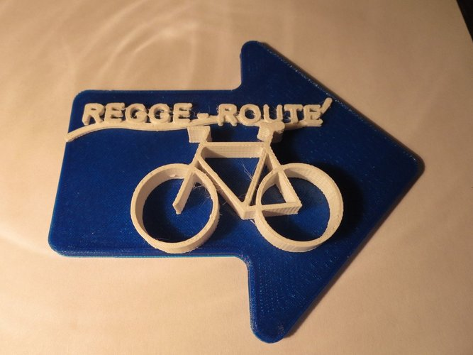 Regge Fietspad in the Netherlands 3D Print 34029