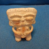 Small Aztec Figure 3D Printing 34044