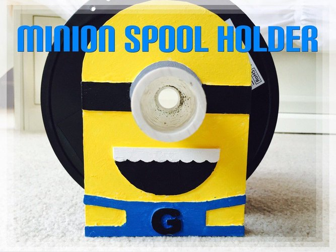 Minion Spool Holder 3D Print 34046