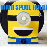 Small Minion Spool Holder 3D Printing 34046