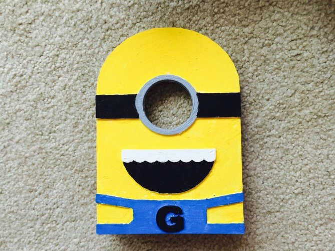 Minion Spool Holder 3D Print 34047