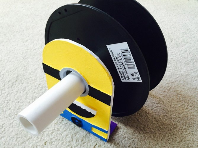 Minion Spool Holder 3D Print 34048