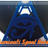 Small Illuminati Spool Holder 3D Printing 34050