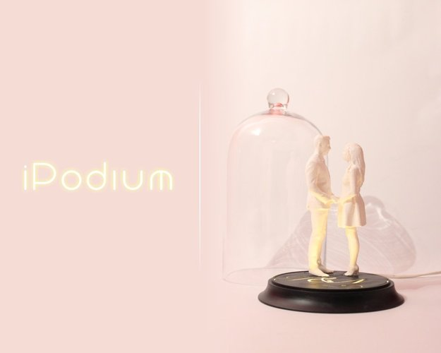 Ipodium | Presentation Display for Your 3D Printed Artwork and O 3D Print 34092