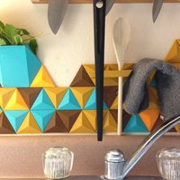 Small Prism: A Modular Backsplash System #CountertopChallenge 3D Printing 34174