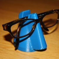 Small Porte-lunette / Glasses holder 3D Printing 34277