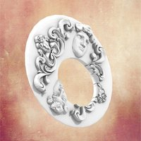 Small Untitled Rococo Bracelet 3D Printing 34363