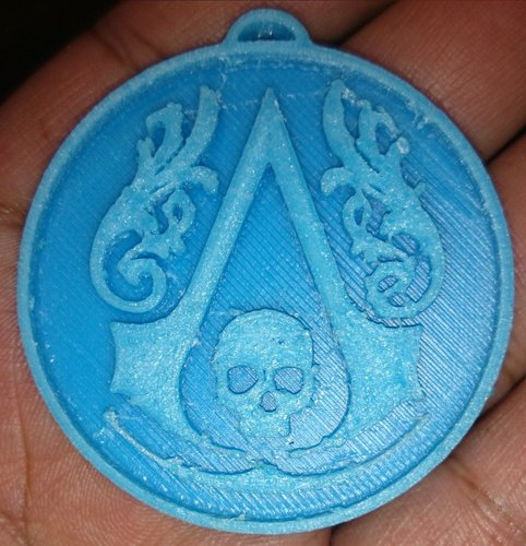 Assassins Creed Logo ( Black Flag ) 3D Print 34440