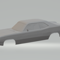 Small plymouth duster 3D Printing 344452