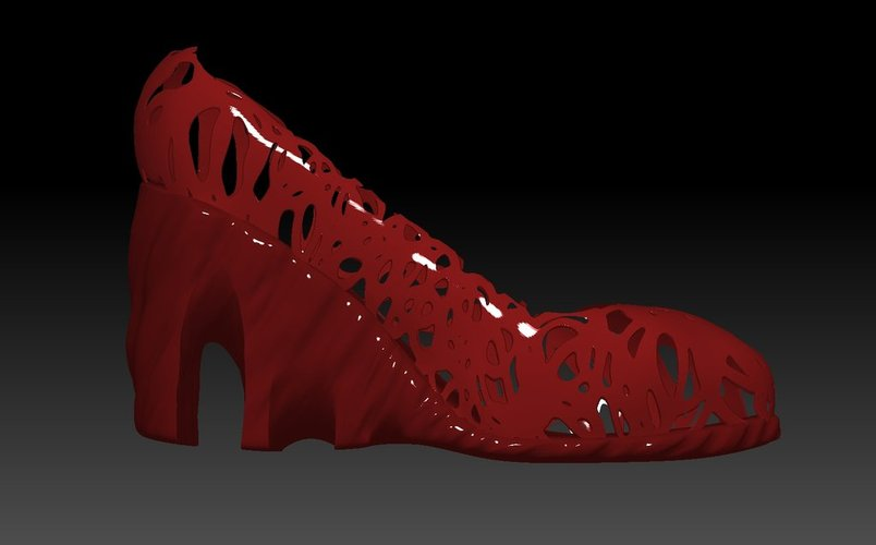 High Heel Shoes 3D Print 34535