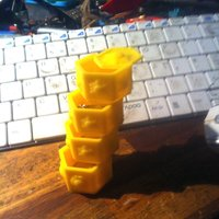 Small Stackumslide Box 3D Printing 34574