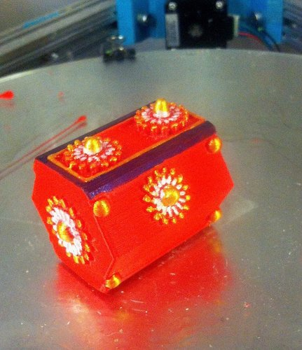 Sliding jewelry box 3D Print 34580