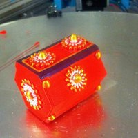 Small Sliding jewelry box 3D Printing 34580